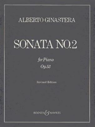Sonate Pour Piano N° 2 Opus 53 - GINASTERA - laflutedepan.com