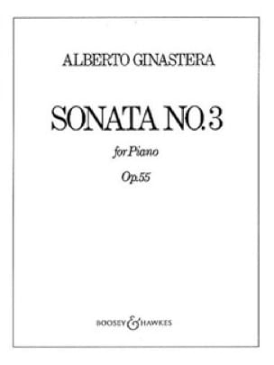 Alberto Ginastera - Sonata for Piano No. 3 Opus 55 - Partition - di-arezzo.com