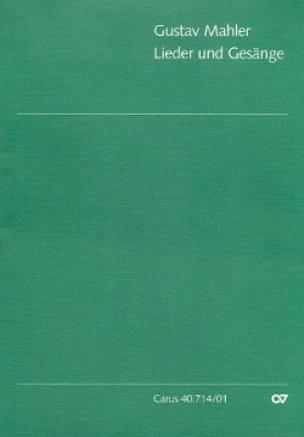 Lieder Und Gesänge - MAHLER - Partition - Chœur - laflutedepan.com