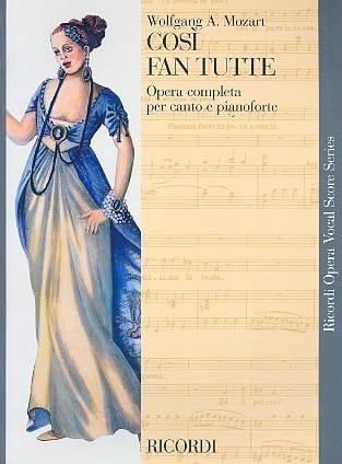 MOZART - Così Fan Tutte K 588 - Partition - di-arezzo.it