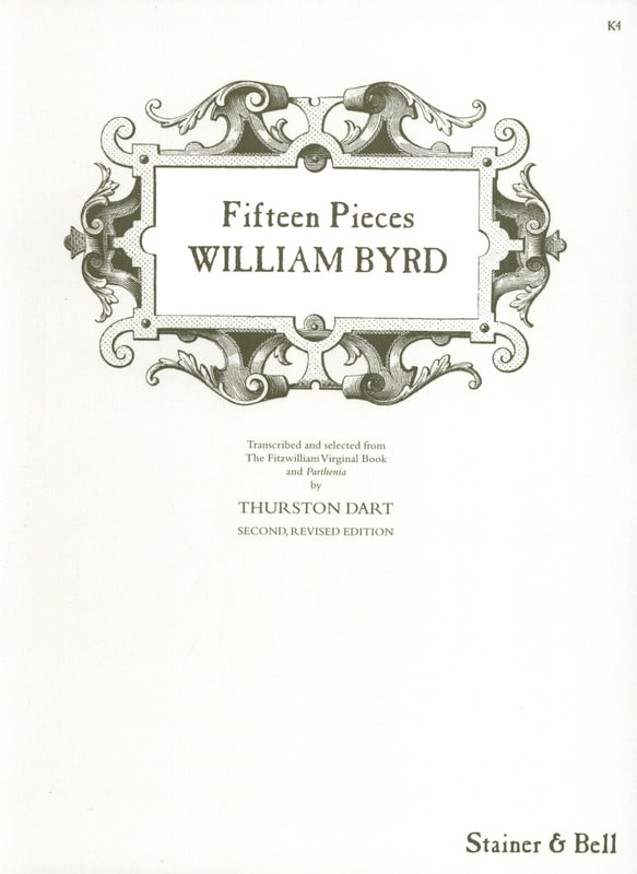 15 Pièces - Willam Byrd - Partition - Clavecin - laflutedepan.com