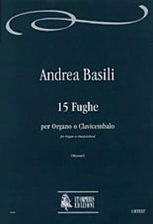15 Fugues 1776 - Andrea Basili - Partition - laflutedepan.com