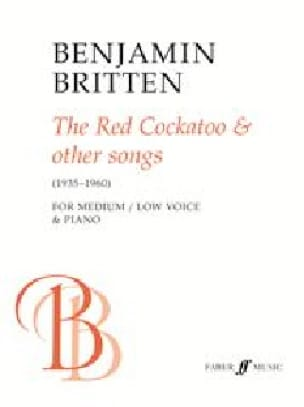 The Red Cockatoo And Other Songs. Voix Moyenne-Grave - laflutedepan.com