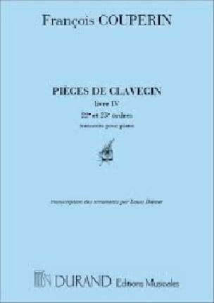 François Couperin - Harpsichord Parts Volume 3 - Partition - di-arezzo.co.uk