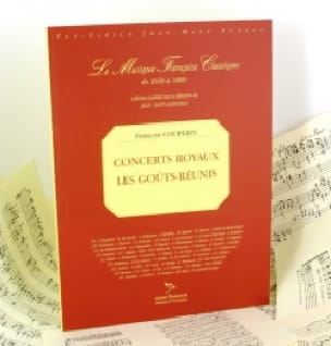 François Couperin - Royal concerts. Reunited Tastes - Partition - di-arezzo.co.uk
