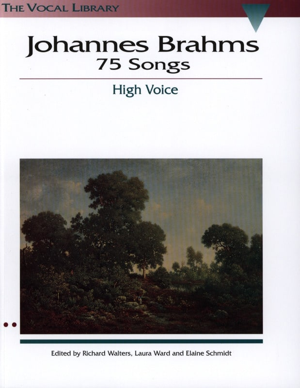BRAHMS - 75 Songs. Aloud - Partition - di-arezzo.co.uk