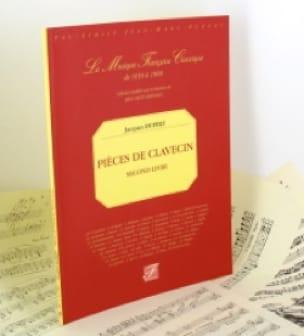 Second Livre de Pièces de Clavecin - Jacques Duphly - laflutedepan.com