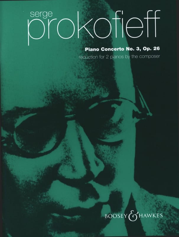 Sergei Prokofiev - Concerto pour piano N°3 Opus 26 - Partition - di-arezzo.ch