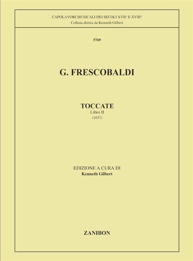 Girolamo Frescobaldi - Toccata. Volume 2 - Partition - di-arezzo.co.uk