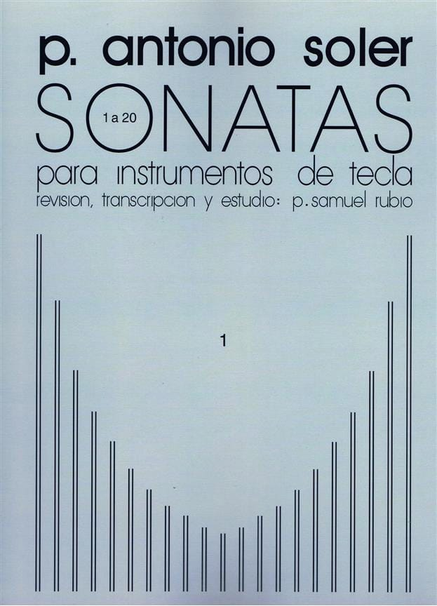 Antonio Soler - Sonaten. Band 1 - Partition - di-arezzo.de