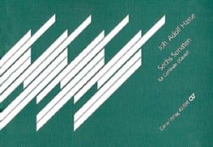 6 Sonates - Johann Adolf Hasse - Partition - laflutedepan.com