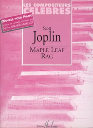 Scott Joplin - Maple Leaf Rag - Partition - di-arezzo.com