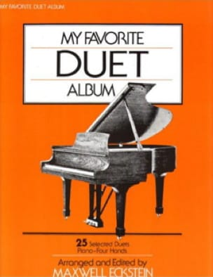 My Favorite Duet Album - Partition - Piano - laflutedepan.com