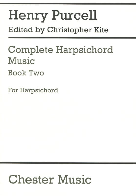 Henry Purcell - Complete Harpsichord Music Volume 2 - Partition - di-arezzo.fr