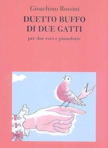 Gioachino Rossini - Duetto Buffo Di 2 Gatti - Partition - di-arezzo.com