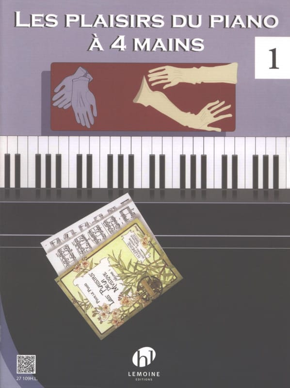 - Los placeres del piano 4 manos. Volumen 1 - Partition - di-arezzo.es