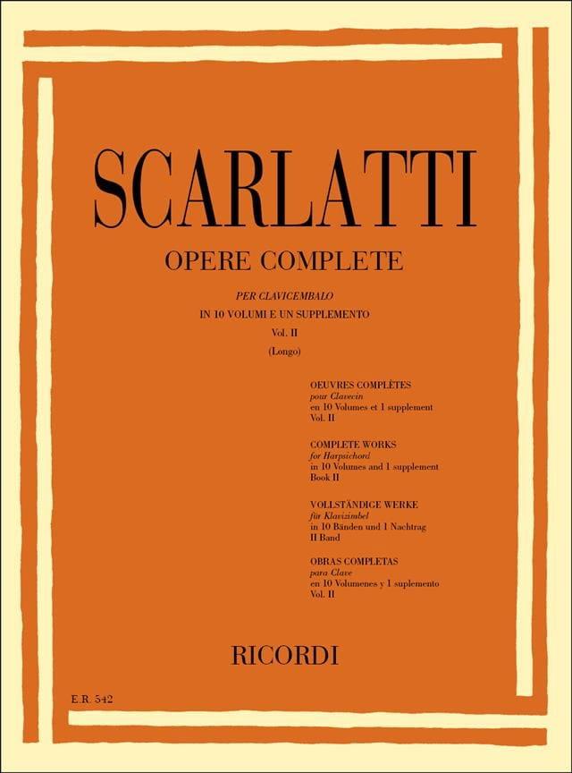 Sonates Volume 2. L51 A L100 - SCARLATTI - laflutedepan.com