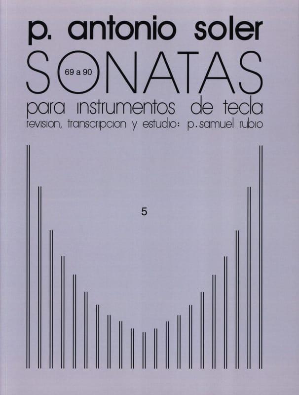 Antonio Soler - Sonaten. Band 5 - Partition - di-arezzo.de