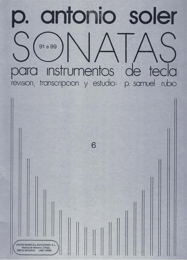 Antonio Soler - Sonaten. Band 6 - Partition - di-arezzo.de