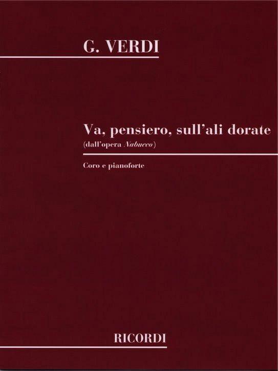 VERDI - Go Pensiero. Nabucco - Partition - di-arezzo.co.uk
