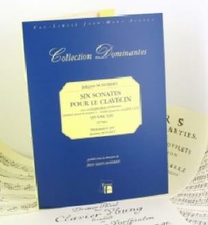 6 Sonates Pour Le Clavecin - Johann Schobert - laflutedepan.com