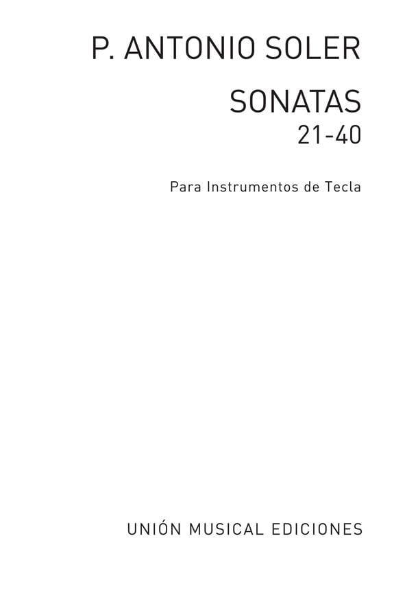 Antonio Soler - Sonaten. Band 2 - Partition - di-arezzo.de
