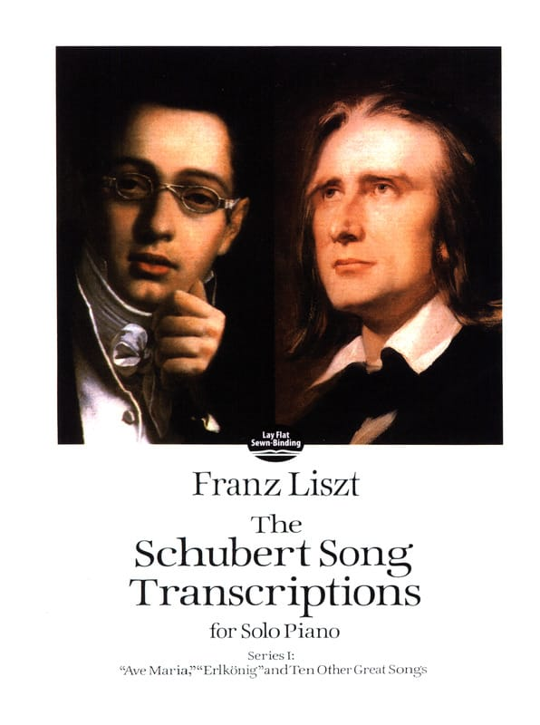 The Schubert Songs Transcriptions Série 1 - LISZT - laflutedepan.com