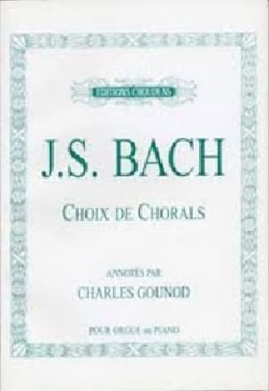 BACH - Choice Of Chorales - Partition - di-arezzo.co.uk
