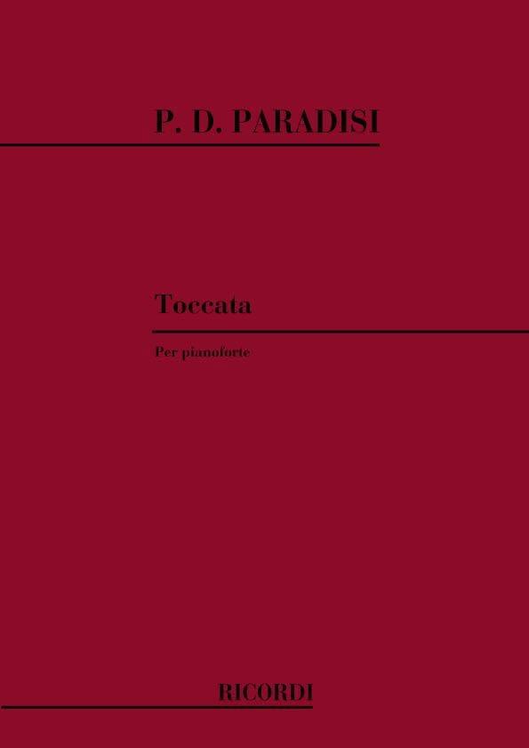 Toccata En La Majeur - P.D. Paradisi - Partition - laflutedepan.com