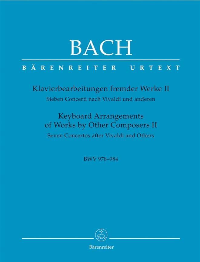 7 Concertos D'après Vivaldi Et Autres Volume 2 - laflutedepan.com