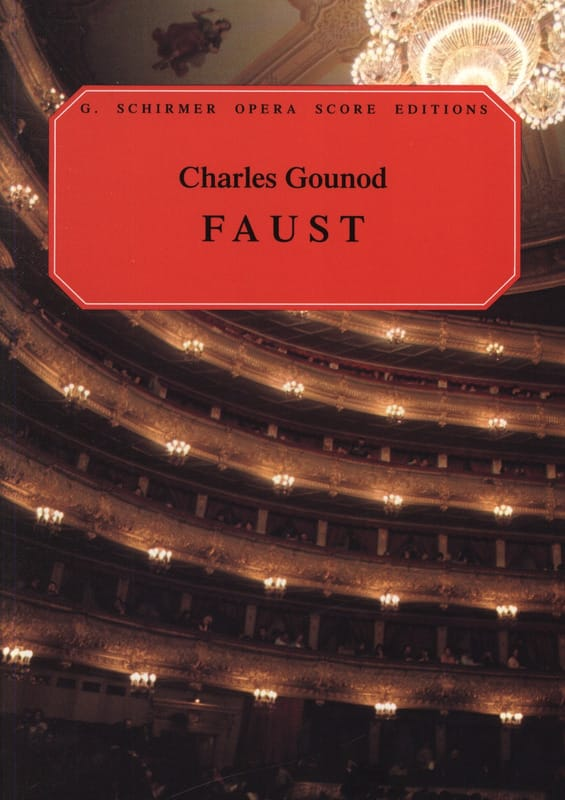 Charles Gounod - Faust - Partition - di-arezzo.com