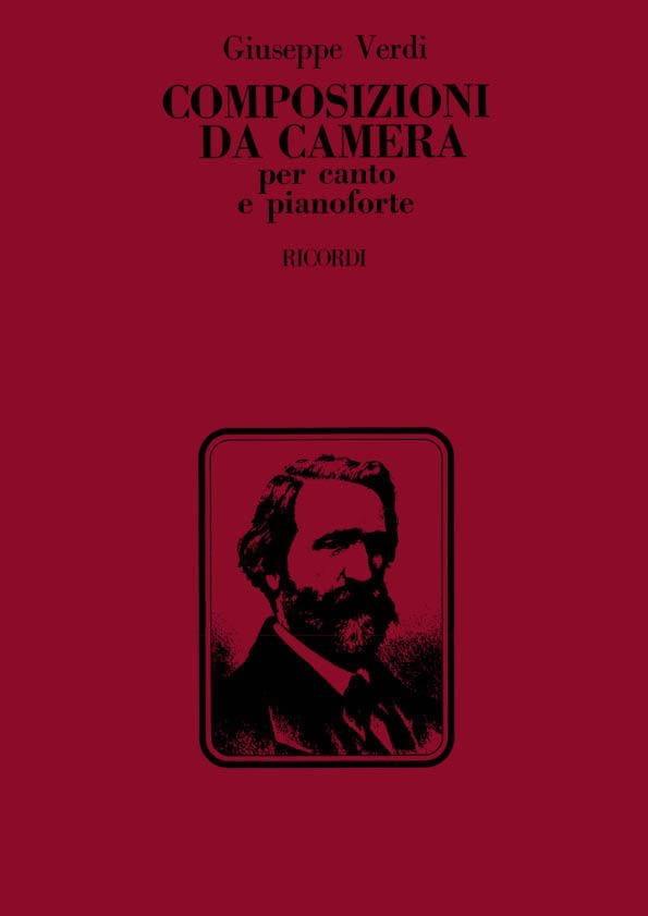 Composizioni Da Camera - VERDI - Partition - laflutedepan.com