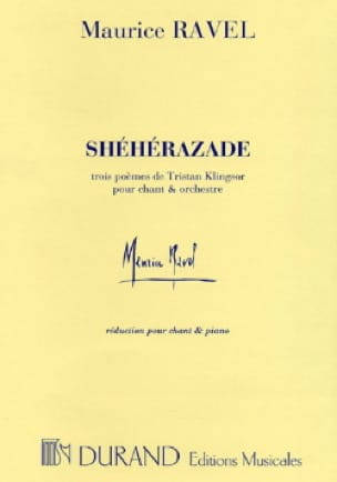 Maurice Ravel - Sherezade. - Partition - di-arezzo.es