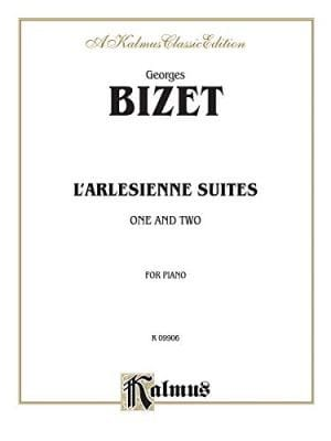 BIZET - The Arlesian (Suites). 4 Hands - Partition - di-arezzo.co.uk