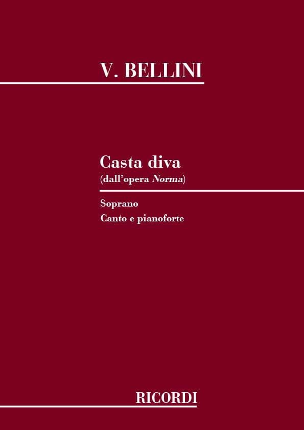 Vincenzo Bellini - Casta Diva. Norma - Partition - di-arezzo.co.uk