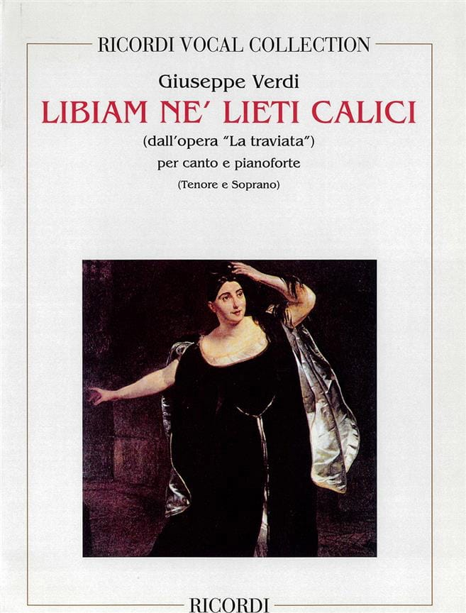 VERDI - Brindisi: Libiam Ne Liete. Traviata - Partition - di-arezzo.co.uk