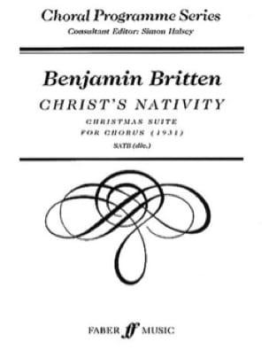 Christ's Nativity - BRITTEN - Partition - Chœur - laflutedepan.com