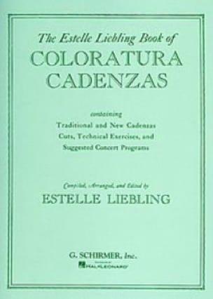 Coloratura Cadenzas. - Partition - Opéras - laflutedepan.com