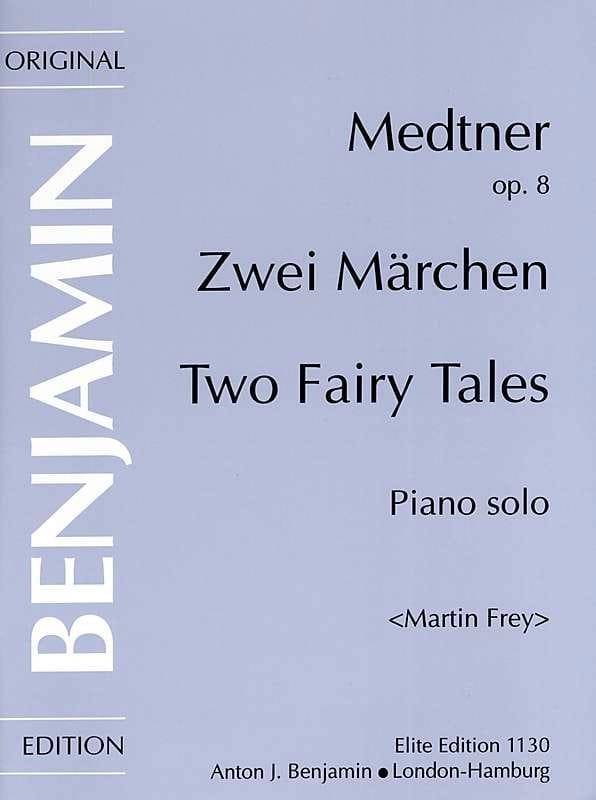 Nicolai Medtner - 2 cuentos de hadas Op. 8 - Partition - di-arezzo.es