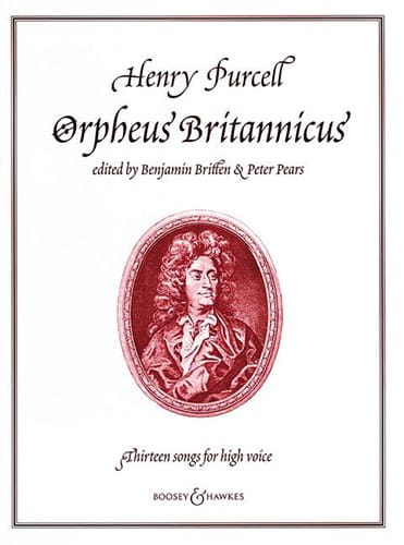 Henry Purcell - Orpheus Britannicus. 13 Songs - Partition - di-arezzo.co.uk