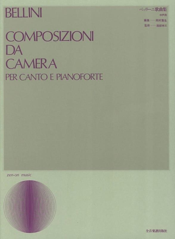 Vincenzo Bellini - Composizioni Da Camera - Partition - di-arezzo.com