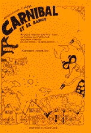 Eric Noyer - Carnibal and his Band. Driver - Partition - di-arezzo.com