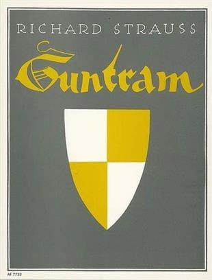 Guntram - Richard Strauss - Partition - Opéras - laflutedepan.com