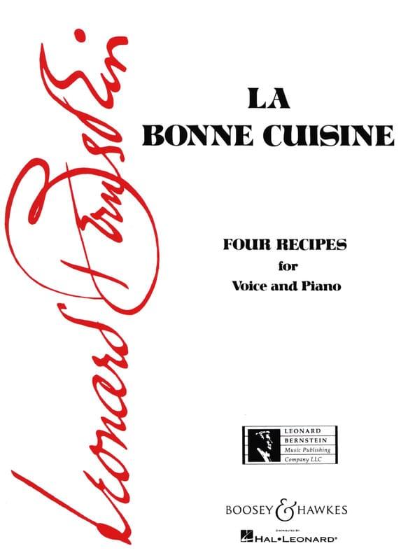 Leonard Bernstein - Good food - Partition - di-arezzo.com