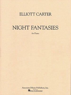 Elliott Carter - Fantasías nocturnas - Partition - di-arezzo.es