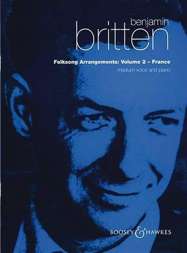 Folksongs Volume 2 Voix Moyenne France - BRITTEN - laflutedepan.com
