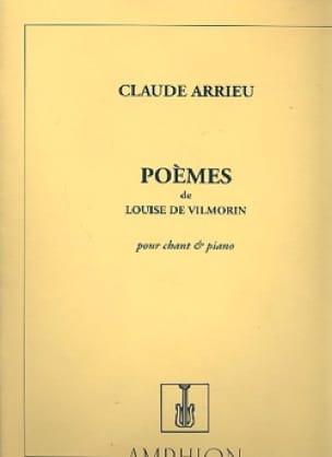 Poèmes de Louise de Vilmorin - Claude Arrieu - laflutedepan.com