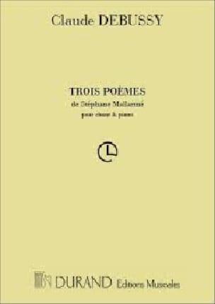 3 Poèmes de Mallarmé - DEBUSSY - Partition - laflutedepan.com