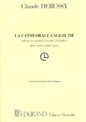 Cathedrale Engloutie. 4 Mains - DEBUSSY - Partition - laflutedepan.com