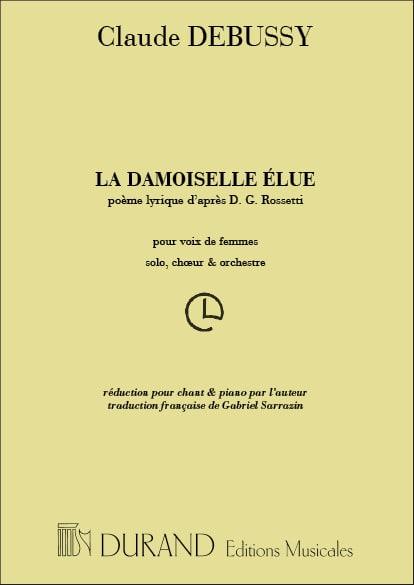 DEBUSSY - La Damoiselle Elue - Partition - di-arezzo.es